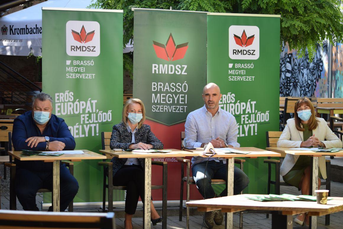 Organizația Județeană UDMR Brașov și-a prezentat programul electoral