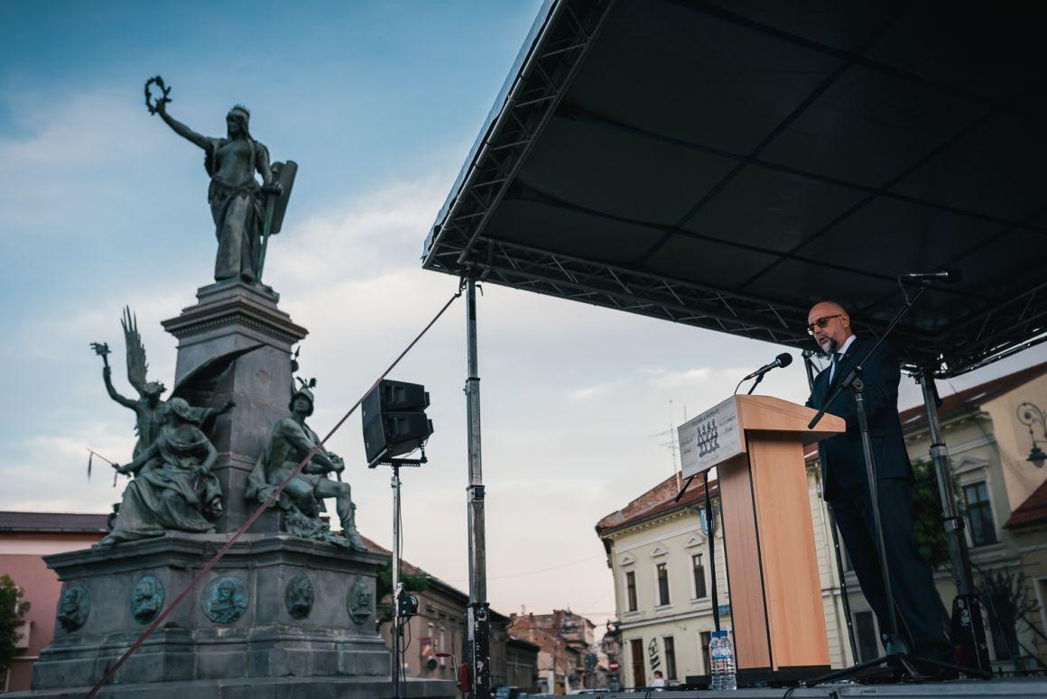 Discursul președintelui UDMR, Kelemen Hunor rostit astăzi la Arad, în cadrul ceremoniei de comemorare a martirilor Revoluției Pașoptiste