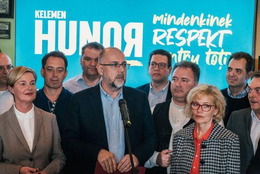 Kelemen Hunor: sunt mândru de rezultatul obținut, sunt mândru de alegătorii noștri!