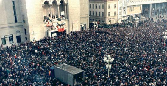 Parlamentul României a adoptat, la propunerea UDMR, o declarație consacrată Revoluției Române din decembrie 1989