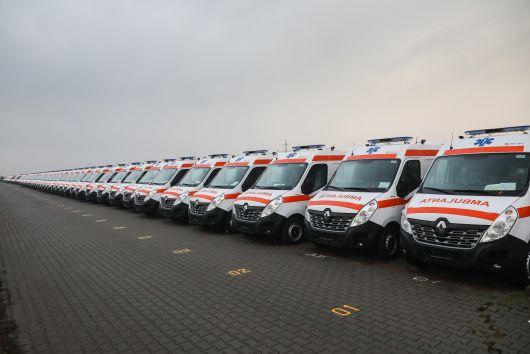 MDLPA: 559 milioane de lei pentru 1358 de ambulanțe noi