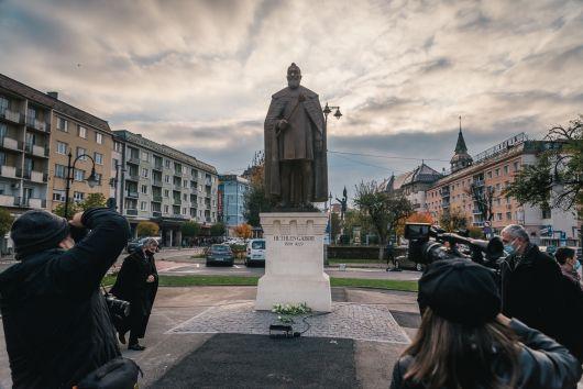 Discursul lui Kelemen Hunor rostit la dezvelirea statuii lui Bethlen Gábor, la Târgu Mureș