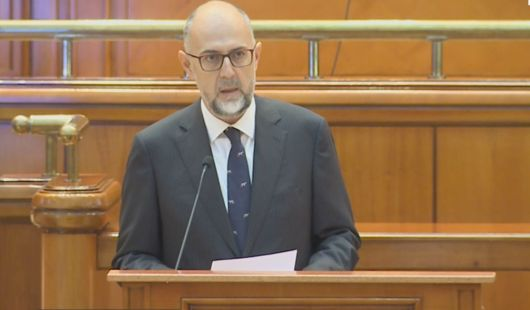 Discursul președintelui UDMR Kelemen Hunor din Parlament de la votul asupra guvernului propus de Dacian Cioloș