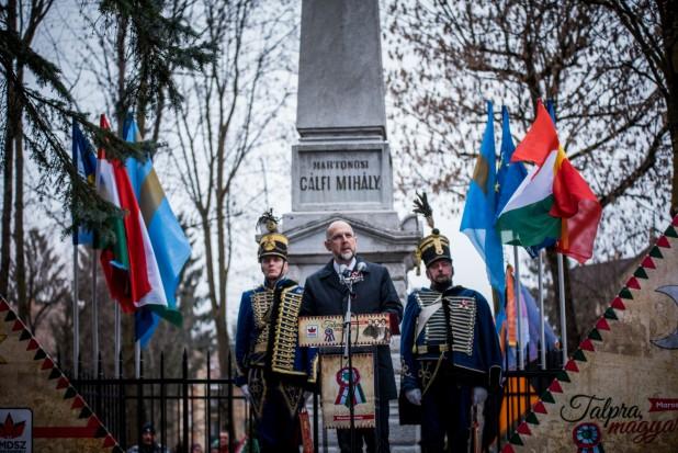 Discursul președintelui UDMR, Kelemen Hunor, rostit astăzi la Târgu Mureș, în cadrul  manifestării dedicate comemorării Revoluției Pașoptiste