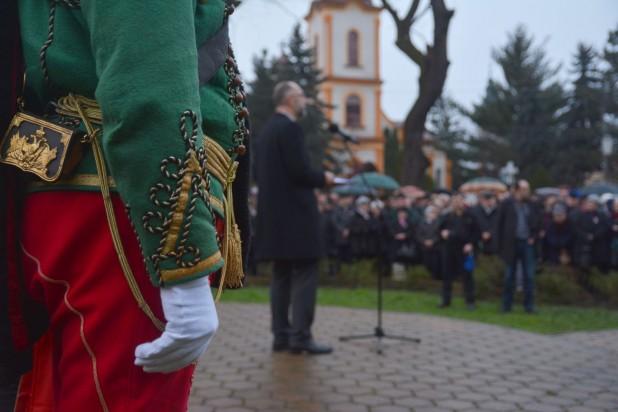 Discursul președintelui UDMR, Kelemen Hunor susținut cu prilejul comemorării, la Satu Mare, a 168 de ani de la Revoluția pașoptistă