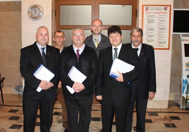 UDMR Hunedoara a depus candidaturile pentru parlamentare la BEJ