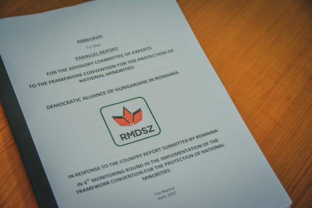 UDMR a transmis comisiei de experți a Consiliului Europei situaţia în legătură cu aplicarea specifică a Convenției Cadru privind minoritățile naționale în România