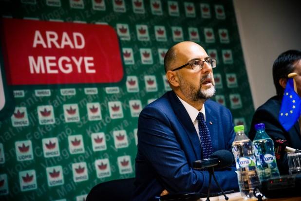 Kelemen Hunor în conferință de presă la Arad: în România anului 2017, majoritatea a refuzat dialogul cu maghiarii