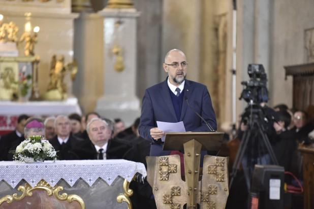 Discursul președintelui UDMR, Kelemen Hunor la aniversarea a 450 de ani de la recunoaşterea libertăţii religioase în Transilvania prin Edictul de la Turda