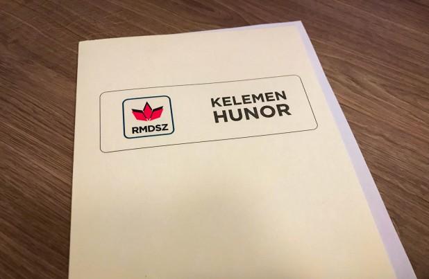 Președintele UDMR, Kelemen Hunor, și-a depus astăzi candidatura pentru un nou mandat la conducerea Uniunii